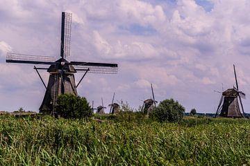 Windmolens op de Kinderdijk