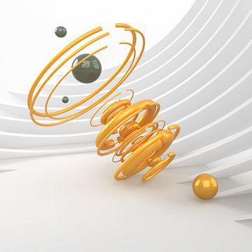 Gelbe Spirale von shoott photography