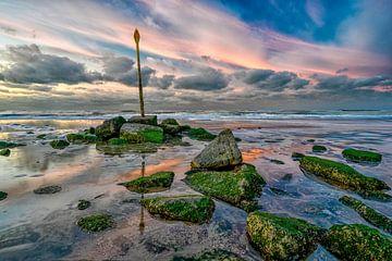 Strand Scheveningen von Leon Okkenburg