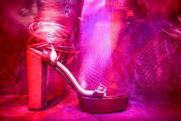 Roter Schuh von Marijke de Leeuw - Gabriëlse