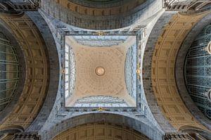 Het plafond van Centraal Station Antwerpen