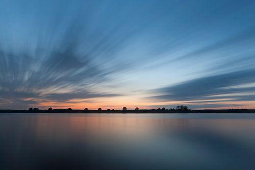 Laatste licht over Nederland