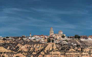 Zicht op het stadje Toro in centraal Spanje van Harrie Muis
