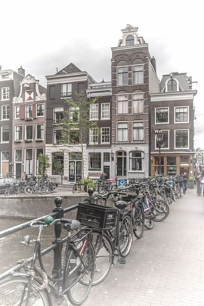 AMSTERDAM Gentlemen's Canal van Melanie Viola