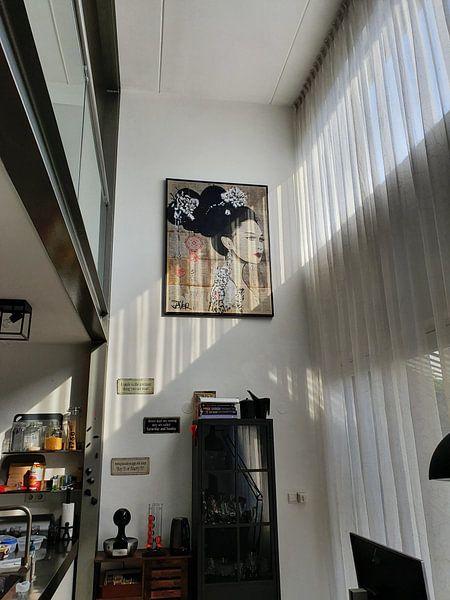Klantfoto: YU van LOUI JOVER, op canvas