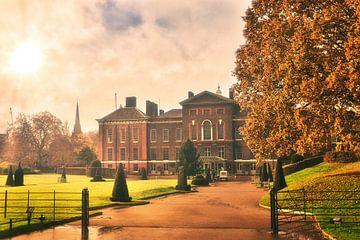 Kensington Palace in de gouden herfst van Foto Oger