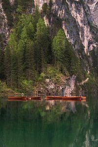 Lago Di Braies sur Esmeralda holman