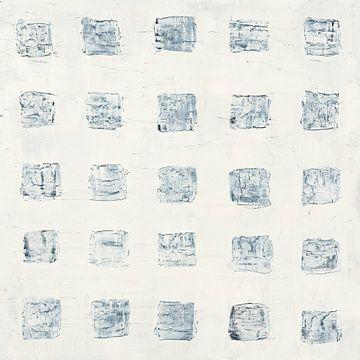 Vierkanten op wit, Wild Apple Portfolio van Wild Apple