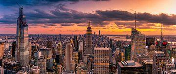 New York Skyline van Remco Piet