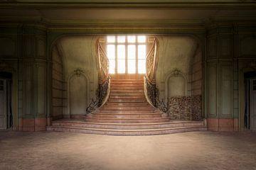 imposante verlaten trap von Kristof Ven