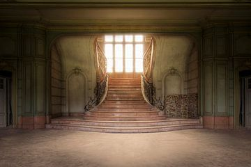 imposante verlaten trap sur Kristof Ven
