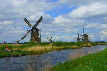 Molens in Kinderdijk von Michel van Kooten