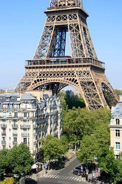 Eiffeltoren in de achtertuin von Michaelangelo Pix