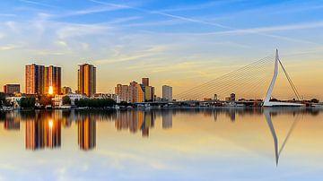 Zonsondergang Rotterdam sur Ralf Linckens