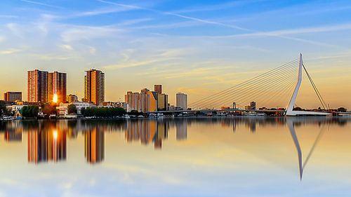 Zonsondergang Rotterdam sur
