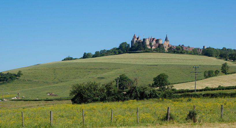 Kasteel in de Bourgogne van BTF Fotografie