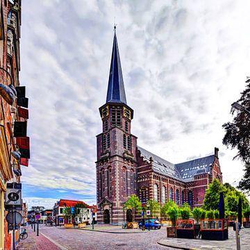 Hoorn Grote Kerk Noord-Holland Nederland van Hendrik-Jan Kornelis