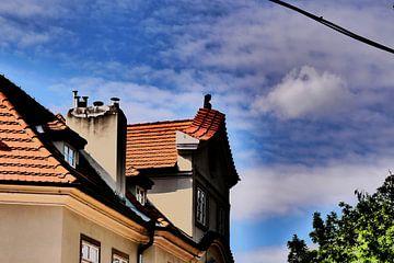 Praag - Uitgelicht gebouw van Wout van den Berg