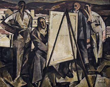 Ramah, Der Maler - 1922 von Atelier Liesjes