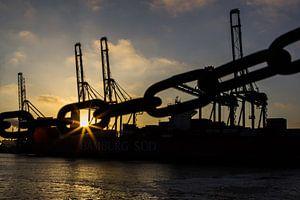 Maasvlakte Rotterdamse havens van