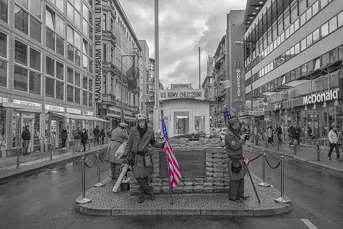 Checkpoint Charlie Berlijn van Amsterdam Fotografie (Peter Bartelings)