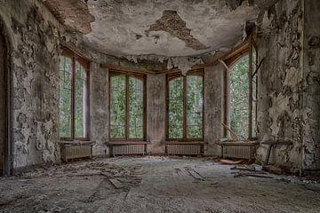 Offene Fenster (urbex) von Jaco Verheul