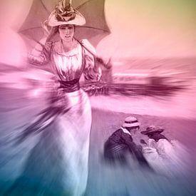 Stranddag, antiek en nieuw van Ina Hölzel