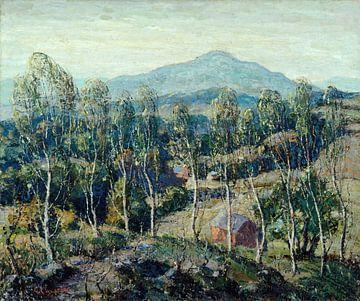 Ernest Lawson-Neu-England Birken