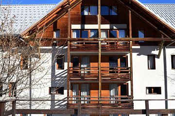Ski-Chalet in Frankreich von Chloe 23