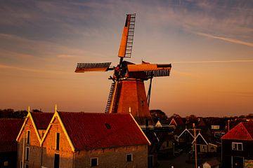 Mühle von Oudeschild von Jolien Oomes