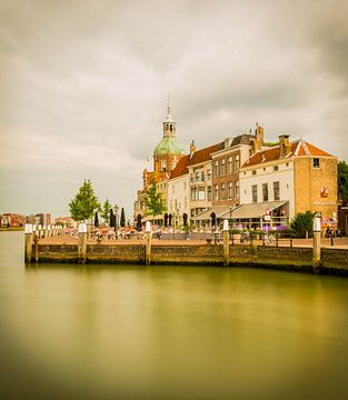 Zicht op het Groothoofd, Dordrecht von Mirjam Boerhoop - Oudenaarden