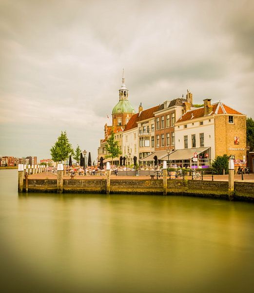 Zicht op het Groothoofd, Dordrecht van Mirjam Boerhoop - Oudenaarden