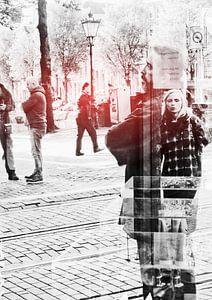 Reflectie op Amsterdam van