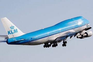 744 KLM Departing Schiphol van Floris Struis