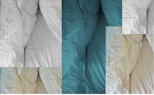 abstracte lakens van sterre Jansen