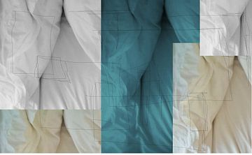 abstracte lakens von sterre Jansen