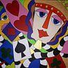 Game of Cards van Anja  Bulté thumbnail