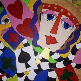 Game of Cards van Anja  Bulté