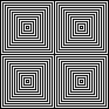 Genesteld in het centrum 02x02 N=12 W van Gerhard Haberern