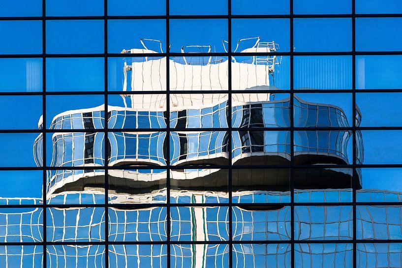 Architectuur in Reflectie - Weena, Rotterdam van Martijn Smeets