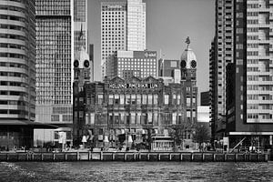 """Hotel New York """"in between"""" (zwart-wit)"""
