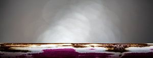 Roze abstracte kunst van