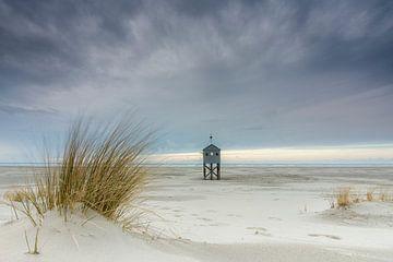 Drenkelingenhuisje am Strand Terschelling von Sander Grefte