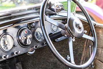 Bentley 4 Liter Vandenplas carrosserie-interieur van Sjoerd van der Wal