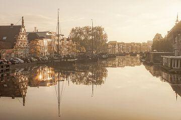 Galgewater in Leiden van Dirk van Egmond