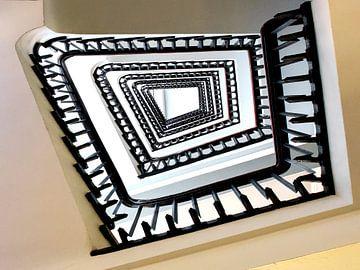 Wendeltreppe Treppe Treppenauge von Carina Buchspies