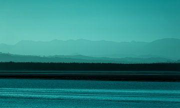 Zonsondergang, Nelson, Nieuw-Zeeland - II (A) van Jelle IJntema