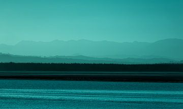 Sonnenuntergang, Nelson, Neuseeland - II (A) von Jelle IJntema