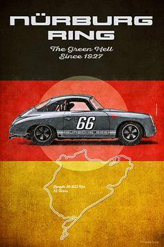 Bursche 356 Nurburgring Vintage von Theodor Decker
