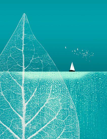 Ocean Wonderland II van Pia Schneider